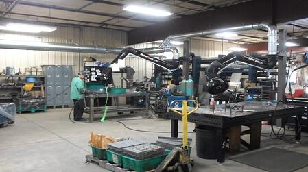 Robovent Manual Weld Stations